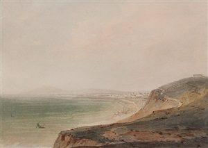 fano on the adriatic [after john robert cozens] by joseph mallord william turner